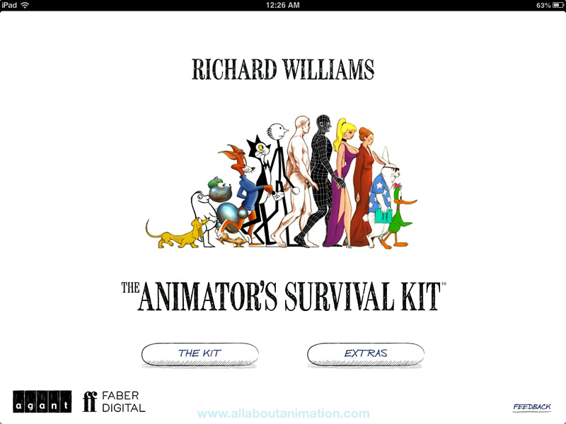 Richard Williams - The Animator's Survival Kit iPad App Review