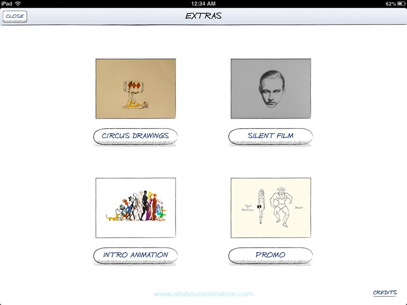 Richard Williams - The Animator's Survival Kit iPad App - Extras