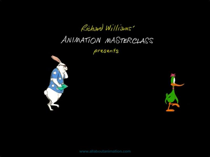 Richard Williams - The Animator's Survival Kit iPad App - Animation