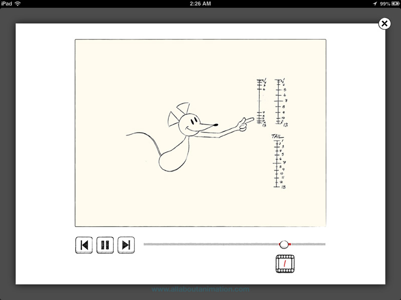 Richard Williams - The Animator's Survival Kit iPad App - Learn