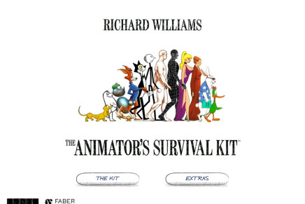 The Animator's Survival Kit iPad App